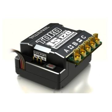 DISC.. TORO 1S120 1/12 Sensored Brushless ESC 120Amp