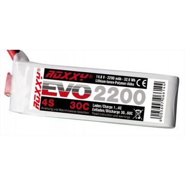 Accu LiPo ROXXY Evo 4-2200 30C