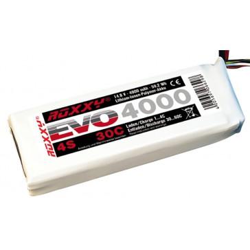 Accu LiPo ROXXY Evo 4-4000 30C