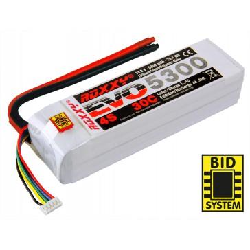Accu LiPo ROXXY Evo 4-5300 30C