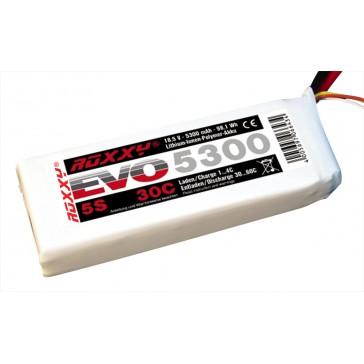 LiPo-Akku ROXXY Evo 5-5300 30C