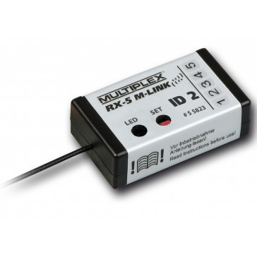 Receiver RX-5 M-LINK ID 2, 2.4 GHz