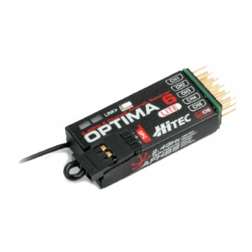 OPTIMA 6 Lite AFHSS 2,4 GHz 6 Ch. receiver