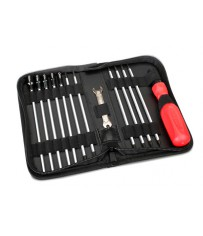 Tool set with bag (includes 1.5,2.0,2.5,3.0,3.5, 4,5,5.5,7,8 nutt)
