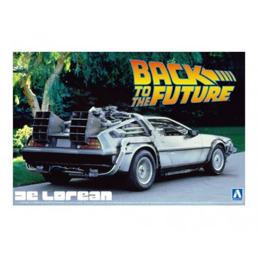 "Delorean ""Back To The Future 1"" 1/24"