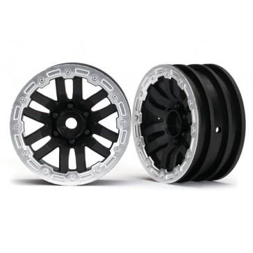 Wheels, TRX-4 1.9 (satin beadlock) (2)