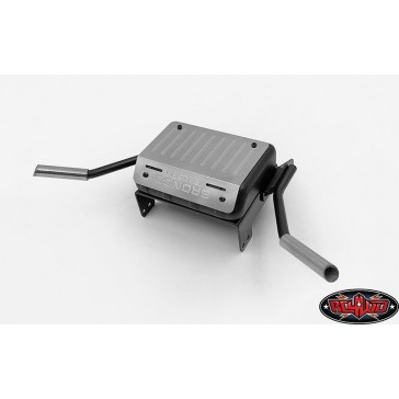 Fuel Tank W/Dual Exhaust for Traxxas TRX-4 '79 Bronco Ranger