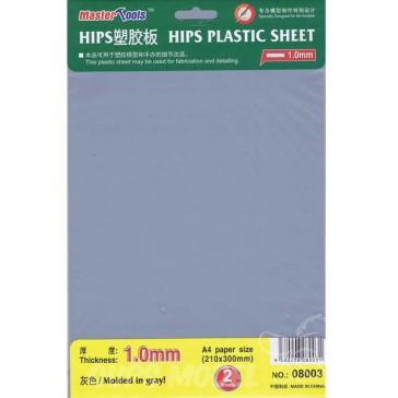 1.0mm HIPS plastic sheet A4