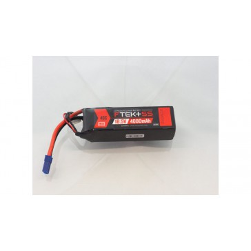 F-TEK+ 5S 4000mAh (18,5V) 40C LiPo Pack with LED Indicator (EC5)