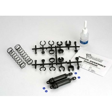 Ultra Shocks (black) (xx-long) (complete w/ spring pre-load