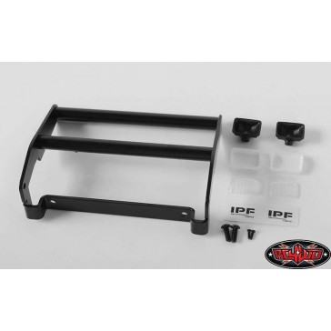 Cowboy Front Grill Guard W/Lights for Traxxas TRX-4