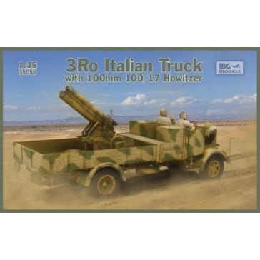 3Ro Italian Truck & 100/17 How.1/35