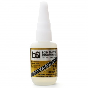 DISC.. Super Gold+ Cyanoacrylate Pocket 21gr (3/4 oz)