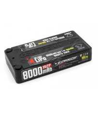 LiPo Battery HV 8000mAh 100C/50C 1s Shorty Ultra LCG 4mm plug