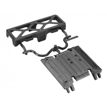 AX80079 Tube Frame Skid Plate/Battery Tray Wraith