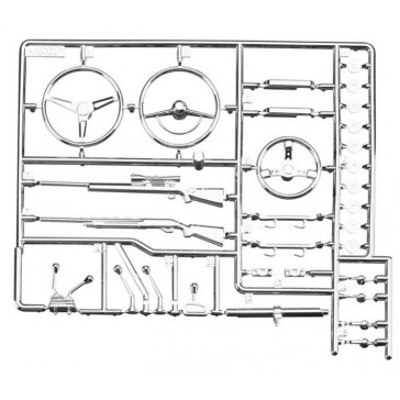 AX80047 Interior Detail Parts Tree Chrome
