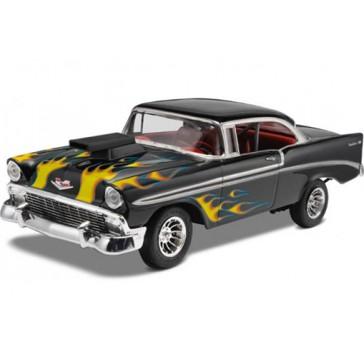 Model Set '56 Chevy Customs 1:24