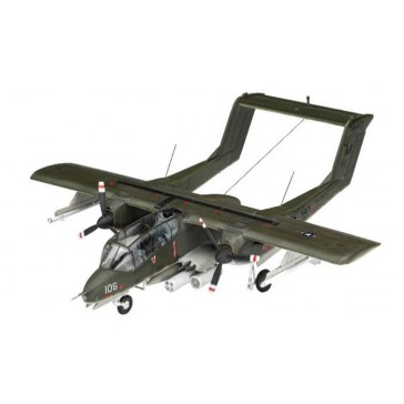 Model Set OV-10A Bronco 1:72