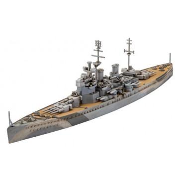 Model Set HMS King George V 1:1200