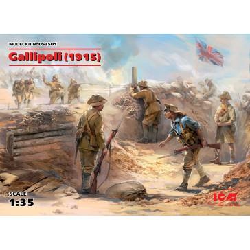Gallipoli 1915 (Anzac. Turk) 1/35