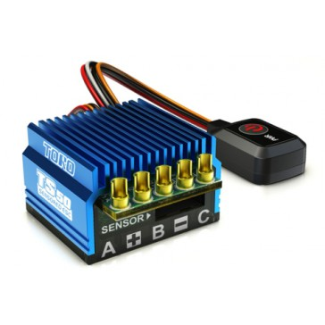 TORO TS50 1/10 Sensored Brushless ESC 50Amp