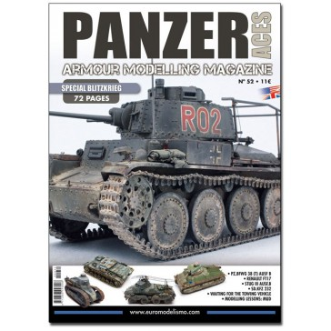 Magazine PANZER ACES NR.52 BLITZ ENG.