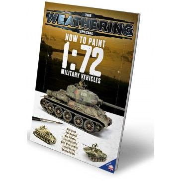 Magazine HOW TO PAINT 1:172 MILIT.VEH.ENG