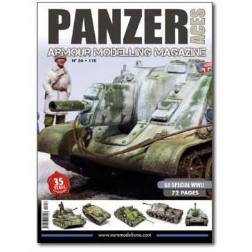Magazine PANZER ACES NR.56 SU ESPECIAL WWII ENG.