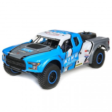 Losi® Ford Raptor Baja Rey: 1/10 4WD RTR blue