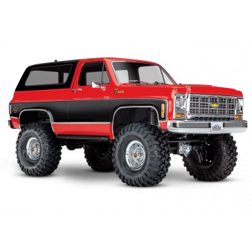TRX-4 Chevy K5 Blazer Crawler TQi XL-5 (no battery/charger), Red