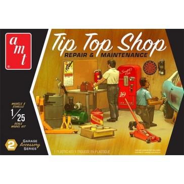 Garage Accessory Set - Tip Top Shop 1/25