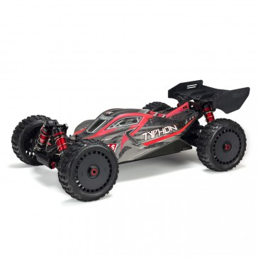 1/8 TYPHON 6S BLX 4WD Brushless Buggy RTR, Red/Grey