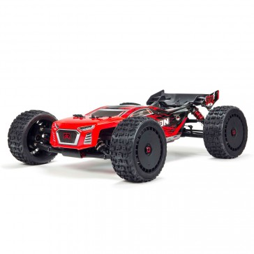1/8 TALION 6S BLX 4WD Brushless Sport Performance Truggy RTR, Red/Bla