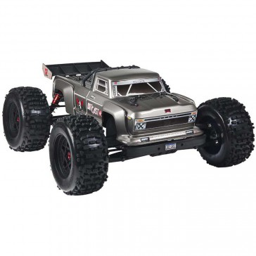 1/8 OUTCAST 6S BLX 4WD Brushless Stunt Truck RTR, Silver