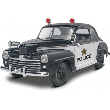 1948 Ford Police Coupe 2n1 1:25