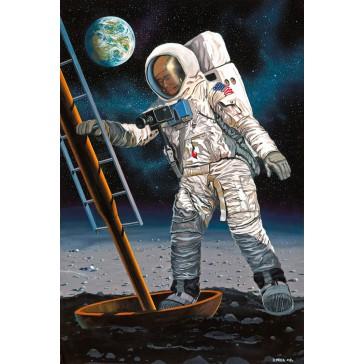 """Apollo 11""""Astronaute sur la lune 1:8"""