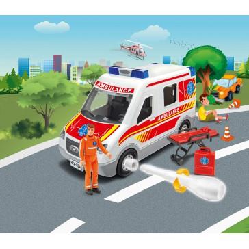 Ambulance avec figurine 1:20