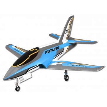 Jet 80mm EDF Futura V2 Blue PNP kit w/ free reflex system