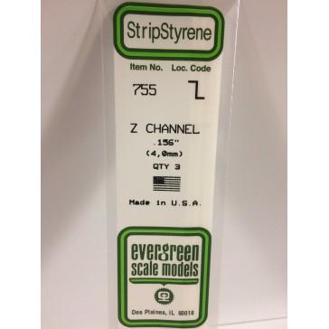 EG Z Channel 4,0 x 2,0 mm (3p.)