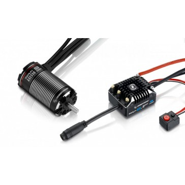 Xerun Axe550 FOC Combo for Rock Crawler 3300kV