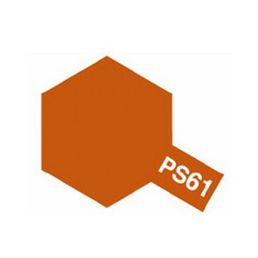 Polycarbonate Spray - PS61 orange metal