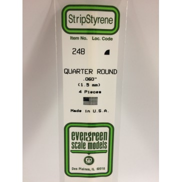 Quart-rond 1.5  mm (4p.)   [SG3]