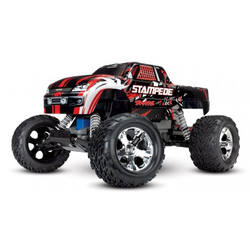 Stampede XL-5 TQ (incl battery/charger), Red