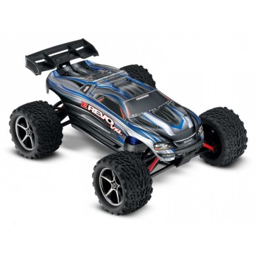 E-Revo VXL 1/16 4x4 Brushless TQi TSM (incl battery/charger), Silver