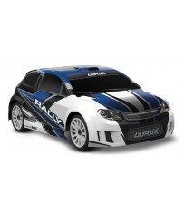 LaTrax Rally 1/18, Brushed (incl battery/charger), Blue