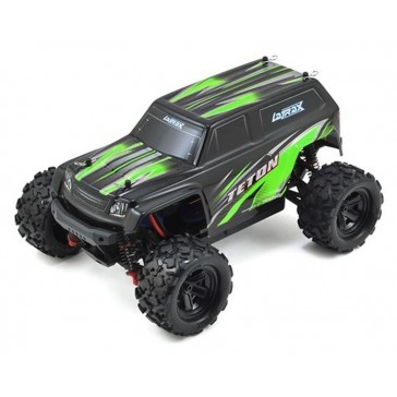 LaTrax Teton 1/18, Brushed (incl battery/charger), Green