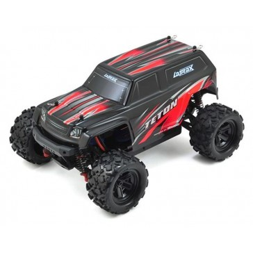 LaTrax Teton 1/18, Brushed (incl battery/charger), Red