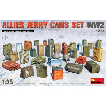 Allies Jerry Cans Set WW2 1/35