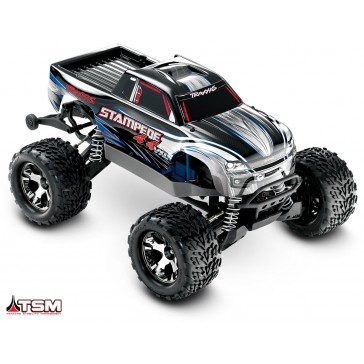Stampede 4x4 VXL TQi TSM (no battery/charger), Silver