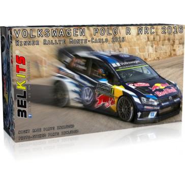 VOLKSWAGEN POLO WRC 2016 OGIER LATVALA M. MONTE CARLO - 1/24 kit